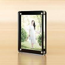 Acrylic photo frame Table transparent photo frame B 10.2x15.3cm(4x6inch)