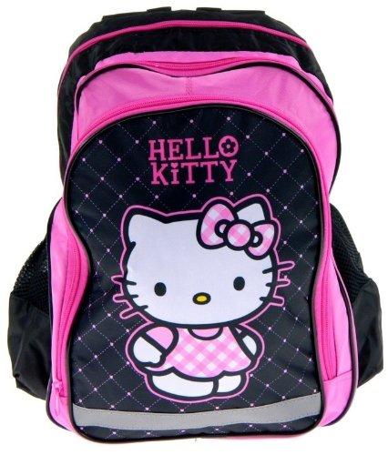 Sanrio Hello Kitty - Mochila escolar, diseño de Hello Kitty: Amazon.es: Juguetes y juegos