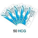LOVEXOK HCG Urine Pregnancy Test Strip/Tira De Prueba De Embarazo Caseras,Prueba Rápida De Embarazo En Orina,50 Count