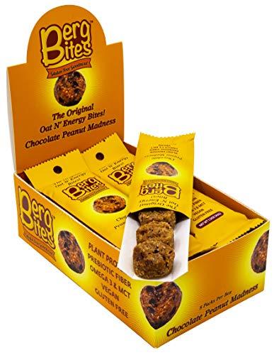 Berg Bites – Chocolate Peanut Madness – Oat N' Energy Bites