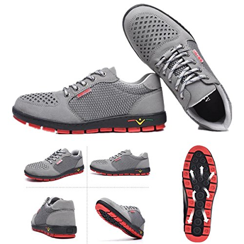 skid Welding Trainers Work Outdoor Mosaic Hiking Bluelover Casual Shoes 39 Anti Antistatic q1WT6T