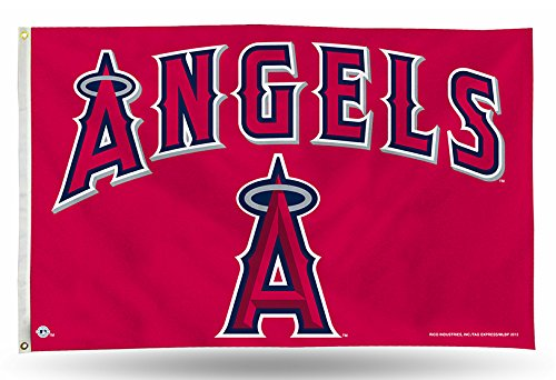 Angels Flag (MLB Los Angeles Angels 3-Foot by 5-Foot Banner Flag)
