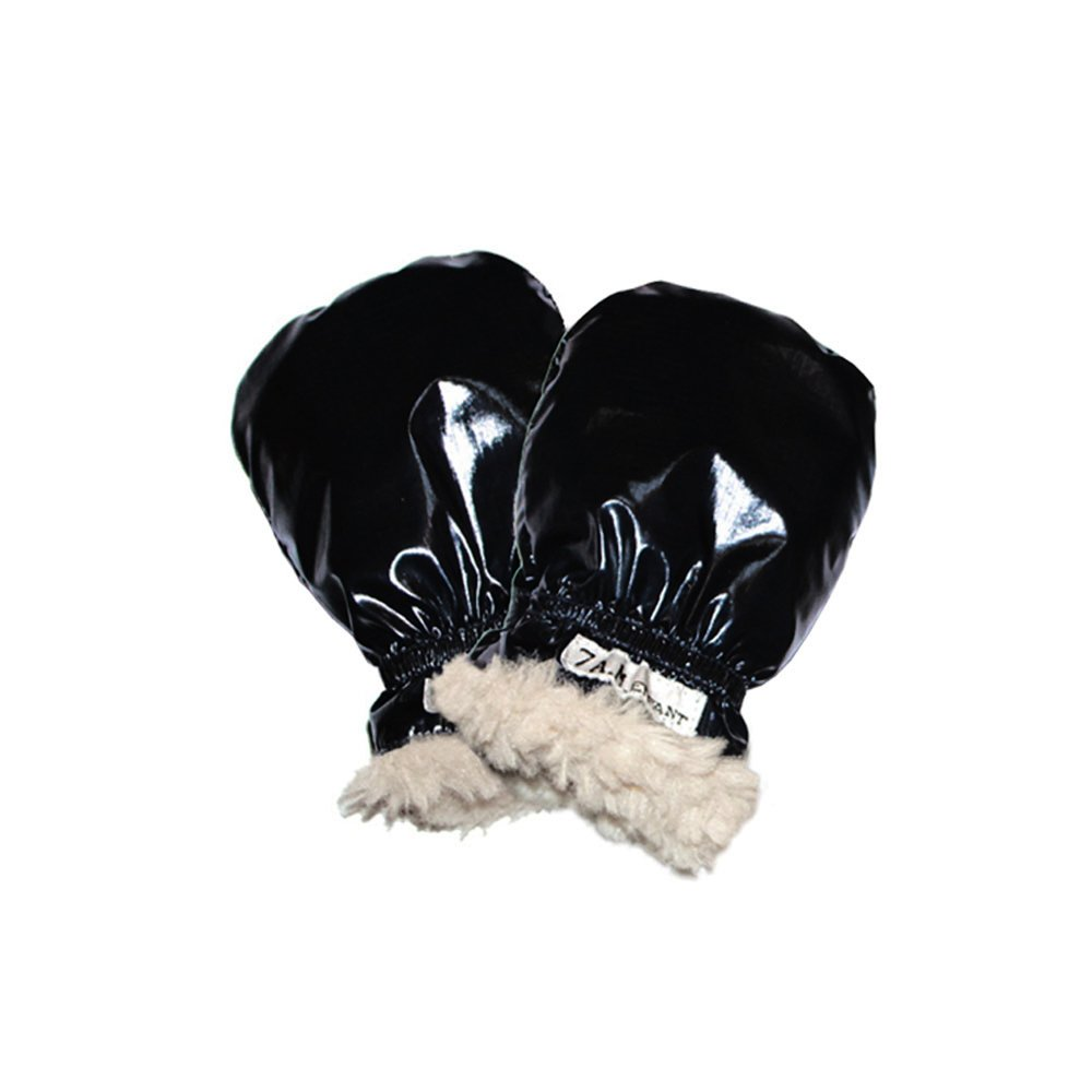 7AM Enfant Polar Mittens, Black, Small