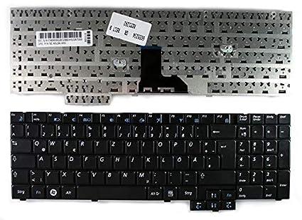 Nerd Herd Samsung R530-Red R618 R620 R620-63G R620-64BR R620-64G R620-Aura R620-Aura P8700 R620-Aura T6400 R620E R620-FS01DE Negro alemán Teclado para ...