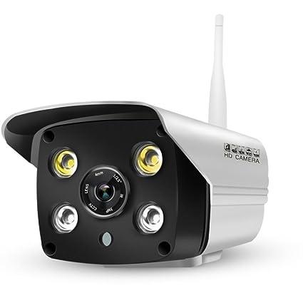 Pomiacam LS-C6 Weatherproof Outdoor WiFi IP Camera,1080P HD Full-Color Night