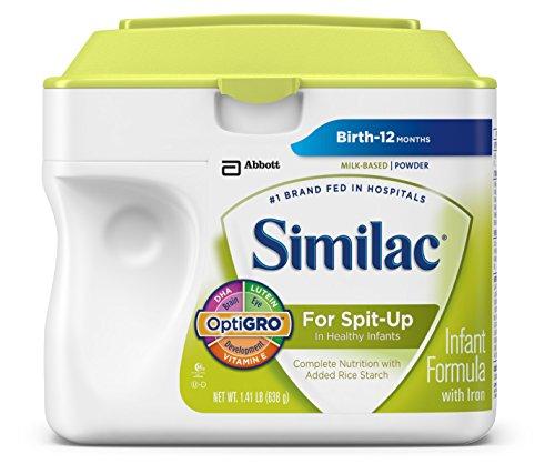 Similac Для срыгивание детской смеси с железом, порошок, 1,41 вес (комплектация может отличаться)