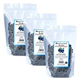 Unsweetened Dried Blueberries by Brownwood Acres - No Added Sugars, Oils or fillers - Just Blueberries! (3 Pounds)