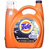 Tide Plus Febreze Sport Active Fresh Scent HE Turbo Clean Liquid Laundry Detergent, 4.08 L, 89 loads