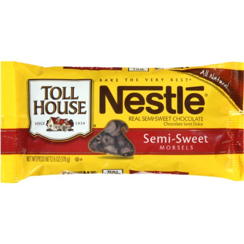 Nestle Tollhouse Nestle Tollhouse Semi Sweet Baking Bar, 4-Ounce Packages (Pack of 6)