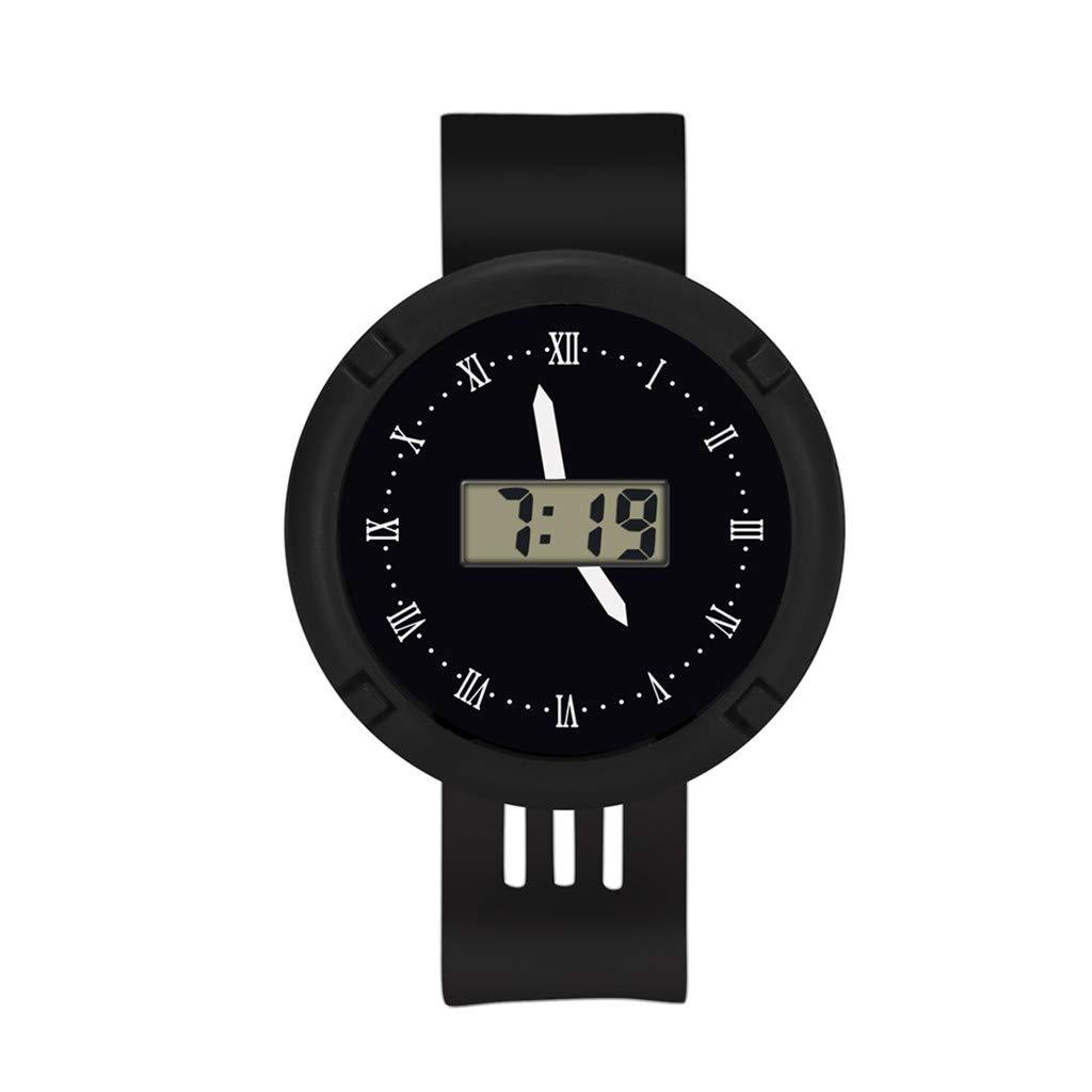 Barhalk Children Analog Digital Wristwatch Round Dial Unisex 30M Waterproof Watch Sport Stop Watches Gift Souvenir for Children' Day Party