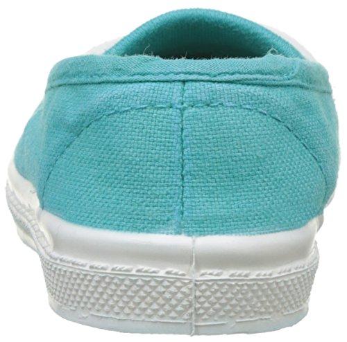 Bensimon Tennis Elastique Enfant - Botas Unisex Niños Turquesa (Turquoise)