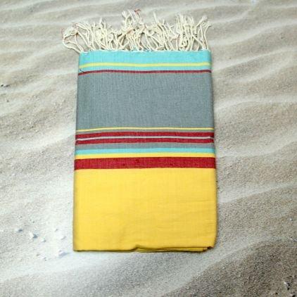 Carpi amarillo – 100% algodón zusenzomer – toalla, 100 cm x 200 cm,