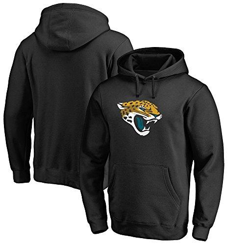 Fashion Outdoor Sport Jacksonville Jaguars Mens Leisure Hoodie Black (XXL)