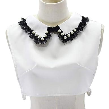Lunji Accessoire Femme Chemise Vêtements Détachable Col Faux Pull ZuliXOPwkT