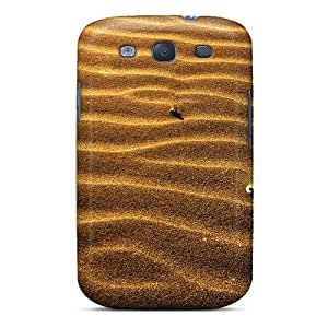 Bernardrmop Fashion Protective Abstract Sand Desert Striped Texture Case Cover For Galaxy S3