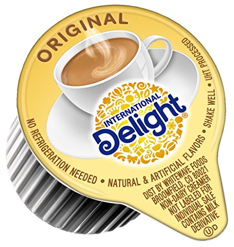 International Delight, Original, Single-Serve Coffee Creamers, 384 Count, Shelf Stable Non-Dairy Flavored Coffee Creamer, Great for Home Use, Offices, Parties or Group Events