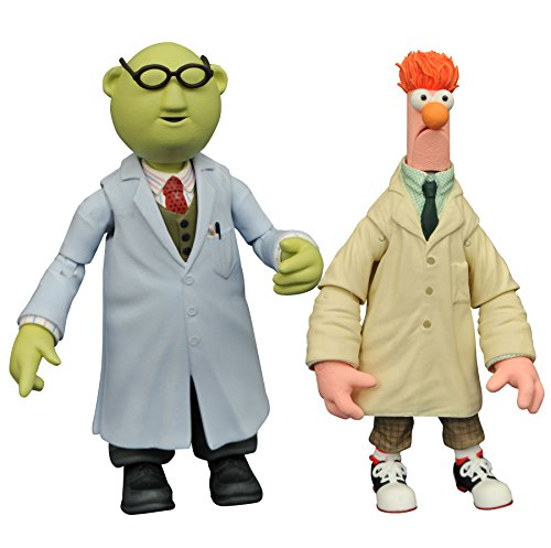 Diamond Select Toys The Muppets: Beaker & Bunsen Honeydew Select Action Figure (2 Pack)