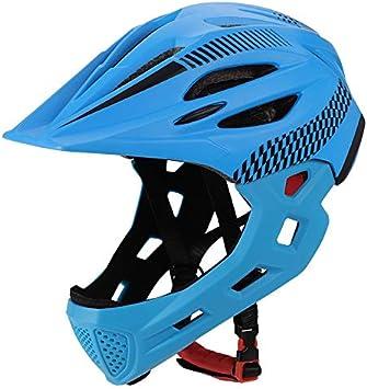 SKINGO Bicicleta Casco Integral Casco Downhill Casco Infantil de ...