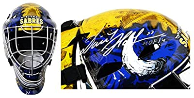 Dominik Hasek Signed Buffalo Sabres Franklin Replica Goalie Mask w/HOF'14