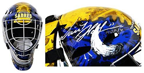 Dominik Hasek Signed Buffalo Sabres Franklin Replica Goalie Mask (Signed Goalie Mask)