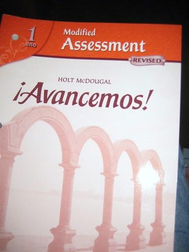 ?Avancemos!: Modified Assessment Levels 1A/1B/1 pdf epub