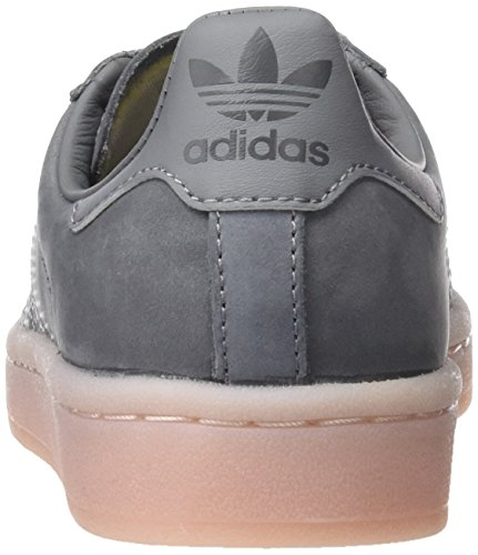 adidas Damen Campus W Fitnessschuhe, Grau Mehrfarbig (Grey Three F17/Grey Three F17/Icey Pink F17)