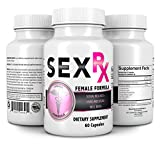 SEX RX FEMALE ENHANCEMENT SUPPLEMENT (60 CAPSULES) HIGH QUALITY FORMULA THAT INCREASE LIBIDO, DESIRE AND SEXUAL WELL BEING.