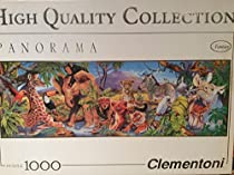 Clementoni Panorama Baby Jungle 1000 Pieces Puzzle