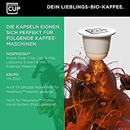My-CoffeeCup Mega-Box Cápsulas de Café Ristretto Italiano Orgánico – Granos con Sabor y Aroma – Compatible con Máquina…