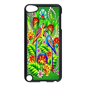 Funny Parrot,Cute Bird Protective Case 143 FOR Ipod Touch 5 At ERZHOU Tech Store