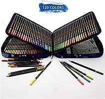120 Lápices de Colores Profesionales,lapiz para colorear de Dibujo y Bosquejo Material de dibujo Set,Incluye Caja de Cremallera Portátil,Mejores Lápices de colores Conjunto Ideal para Adultos y Niños: Amazon.es: Hogar