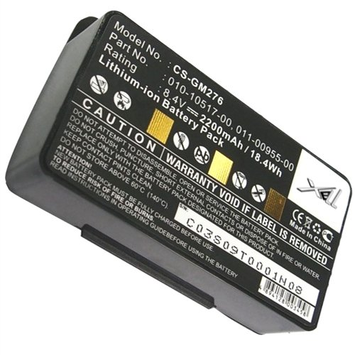 Battery for GPS Garmin GPSMAP 276 276c 296 376 376C 378 495 396 478 010-10517-00 by banshee