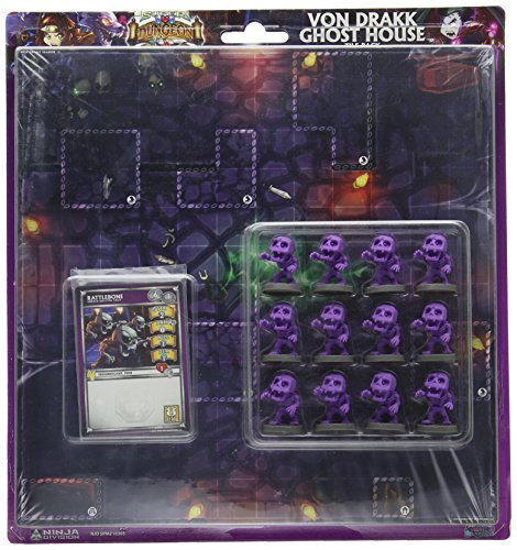 Ninja Division Dungeon Tiles Von Drakk Ghost House Board Game