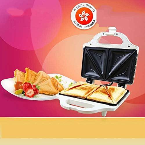 Charik Sandwich Maker Petit déjeuner Machine Mini Toaster ménage Double-Face Chauffage Petite Machine à Sandwich