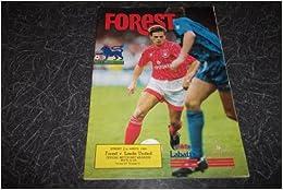 FOREST V LEEDS UTD 21.3.1993. OFFICIAL NOTTINGHAM FOREST FOOTBALL PROGRAMME