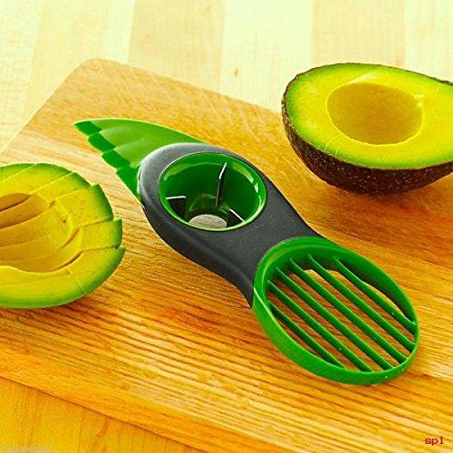 Avocado Slicer Pitter Splitter Slices Cutter Kitchen Fruit