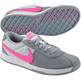 New Womens Nike Lunar Bruin Golf Shoes Grey/Pink-Retail