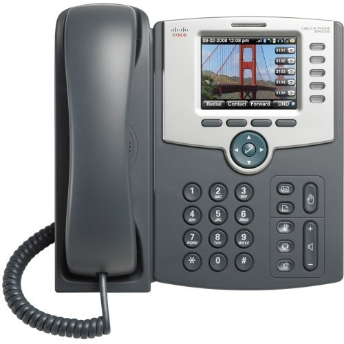 Cisco Small Business Spa 525G2 - Voip Phone - Ieee 802.11G (Wi-Fi) - Sip, Sip V2, Spcp - Multiline - Silver, Dark Gray - For Small Business Pro Unified Communications 320 With 4 Fxo ''Product Type: Networking/Voip Phones''