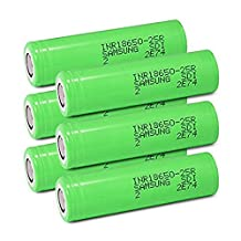 Samsung INR18650-25R Rechargeable Flat Top Batteries 2500mAh (Pack of 6)