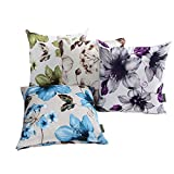 LAZAMYASA Printed Rose Cover Pillows Case Soft