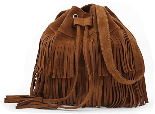 Cross Body Bags With Fringes - 4
