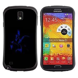 LASTONE PHONE CASE / Suave Silicona Caso Carcasa de Caucho Funda para Samsung Note 3 N9000 N9002 N9005 / Romance Glamour Old Movies Man Woman