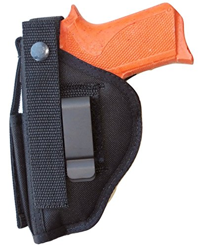 (Hip Holster for Remington R51 Pistol with Front Mounted Extra Mag Pouch)