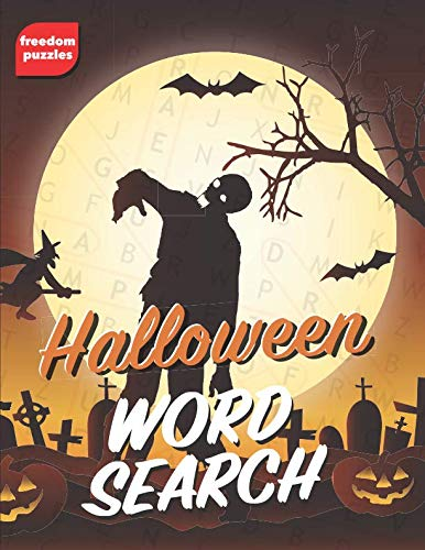 Halloween Word Search: Large Print Puzzle Book (Trick or -