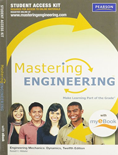 MasteringEngineering with Pearson eText -- Standalone Access Card -- for Engineering Mechanics: Dynamics