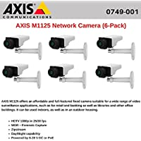 AXIS M1125 (6-Pack) Network HDTV 1080p Camera with Day/Night capability