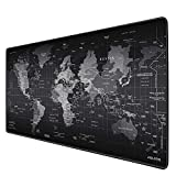 JIALONG Extended Gaming Mouse Pad Large Size 900x400mm Non-Slip Rubber Base with Stitched Edges Ideal for Office Computer PC Keyboard and Mouse