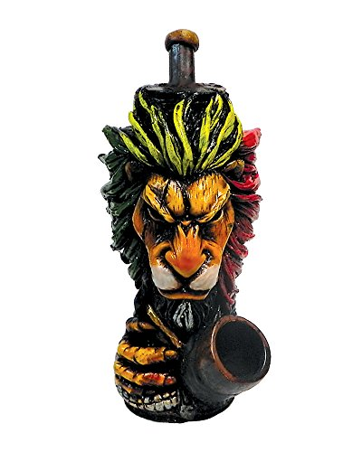 Rasta Scar Lion Smoking