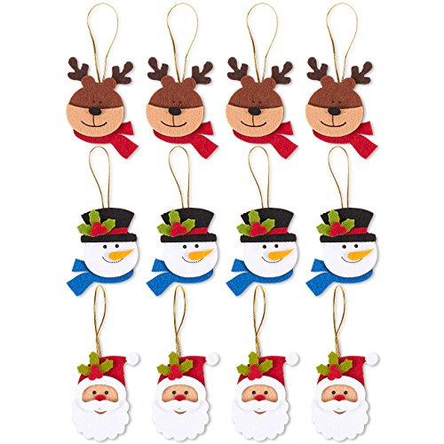 Felt Christmas Ornaments - 2