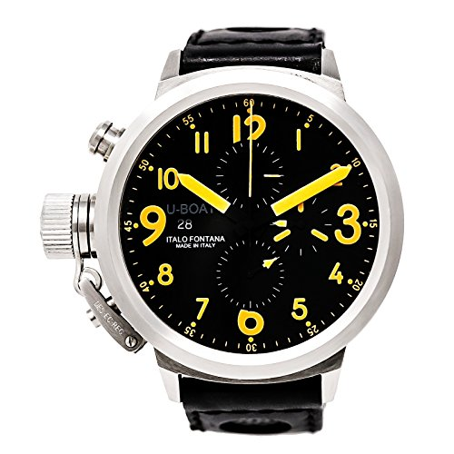U-Boat Flightdeck Automatic-self-Wind Male Watch 7750/50 (Certified Pre-Owned) (7750 Automatic Watch)